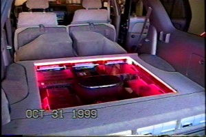 Custom Audio System I Designed In A Toyota 4Runner, 1999