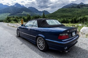 Custom 1999 BMW E36 328i Convertible