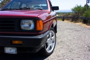Custom 1989 Volkswagen Fox Coupe